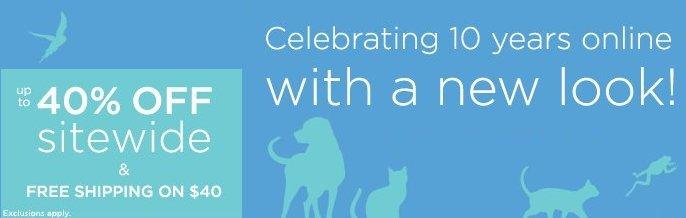 petco 10th anniversary sale
