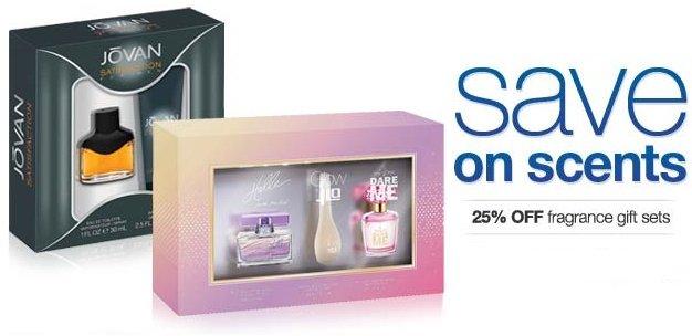 sears fragrance sets