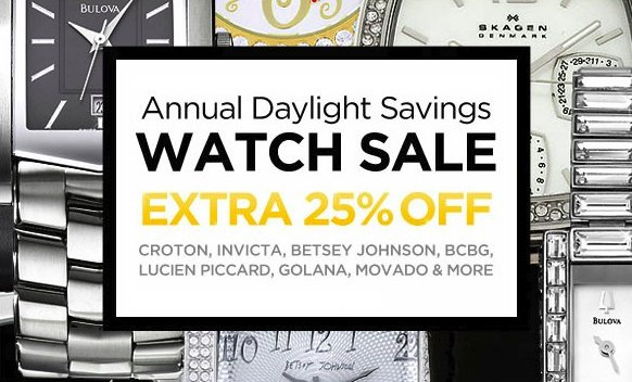 smart bargains annual daylight savings
