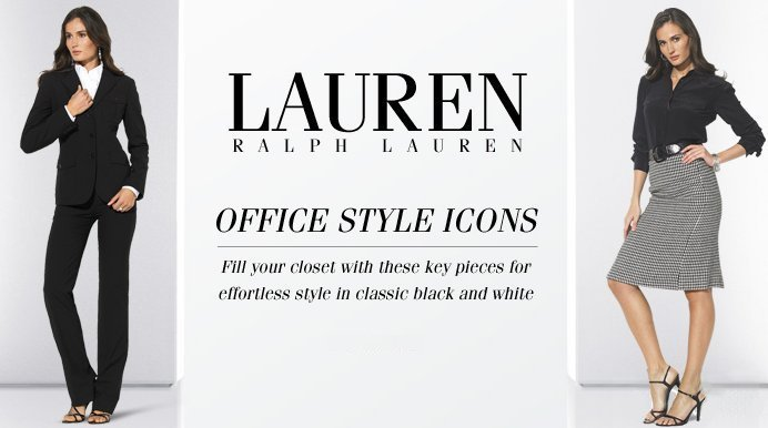 Lauren by Ralph Lauren office style icons