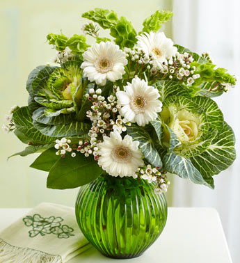 st patrick's day flowers
