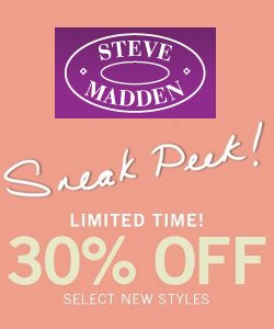 steve madden sneak peek