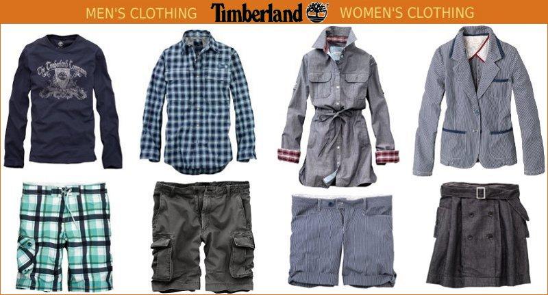 timberland clothing