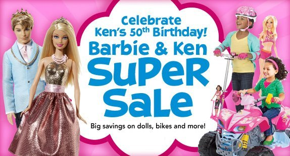 toys r us barbie and ken sale