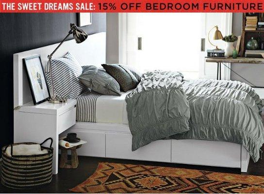 west elm bedroom furniture sale