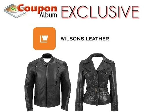 wilsons leather couponalbum exclusive