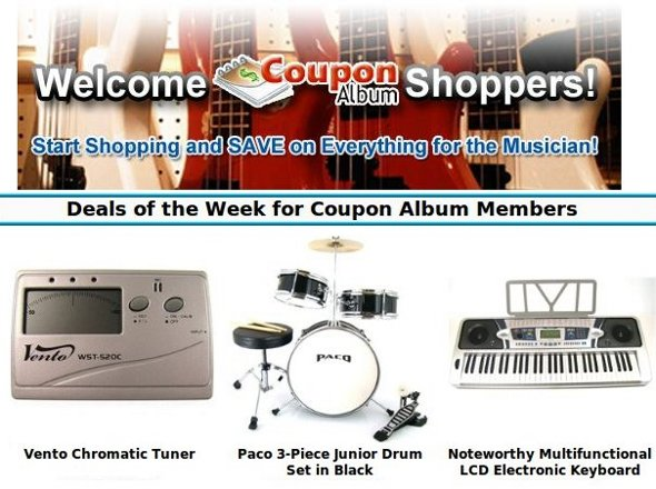 MusicFactoryDirect exclusive offer