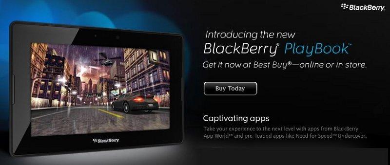 blackberry playbook order