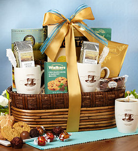 Mom's Coffee Gift Basket