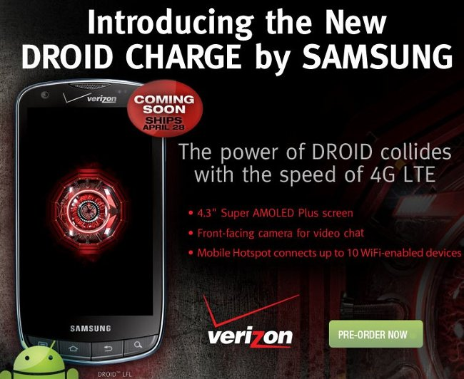 droid charge