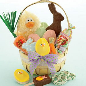 easter morning basket