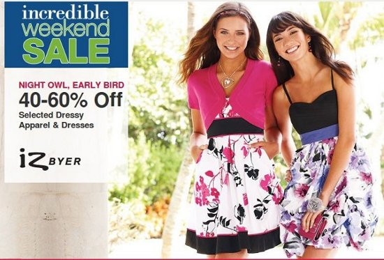 kohls apparels offer
