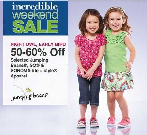 kohls kids offer