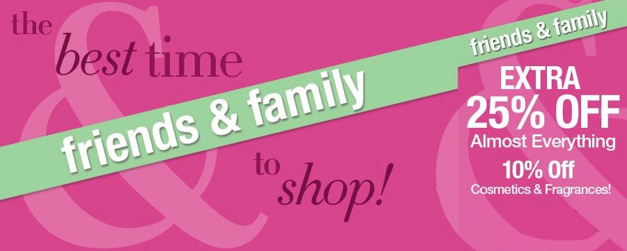 lord and taylor friends family sale