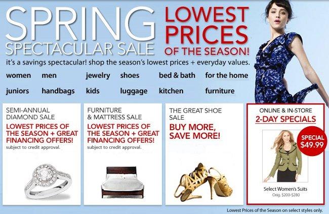 macys spring spectacular sale