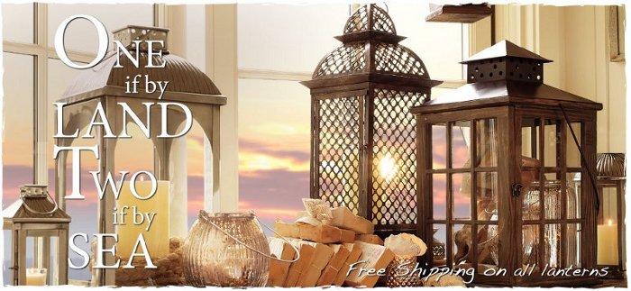 pb collection of lanterns