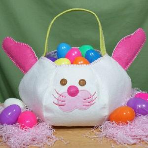 personalized easter egg basket