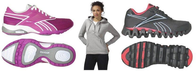 reebok shoes and hoodie