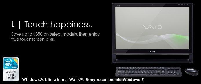 sony vaio L series desktop