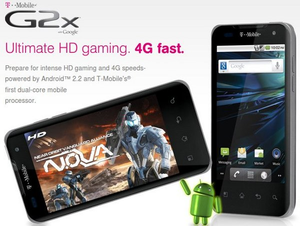 t-mobile g2x preorder