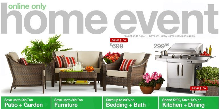 target home event