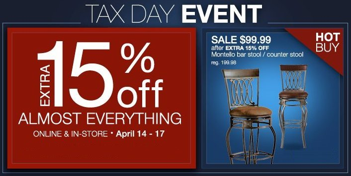 the great indoors tax event