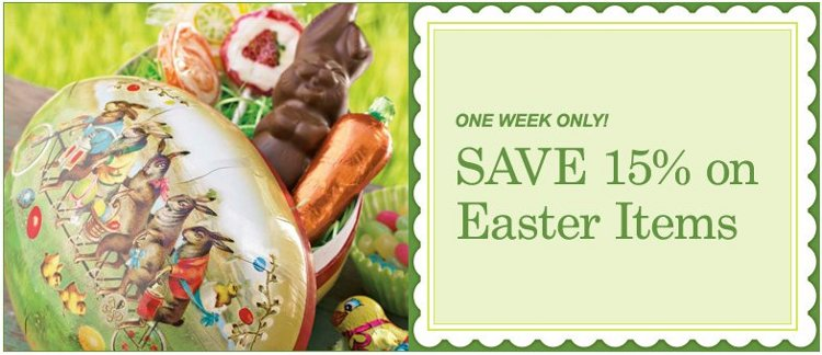 williams sonoma easter special