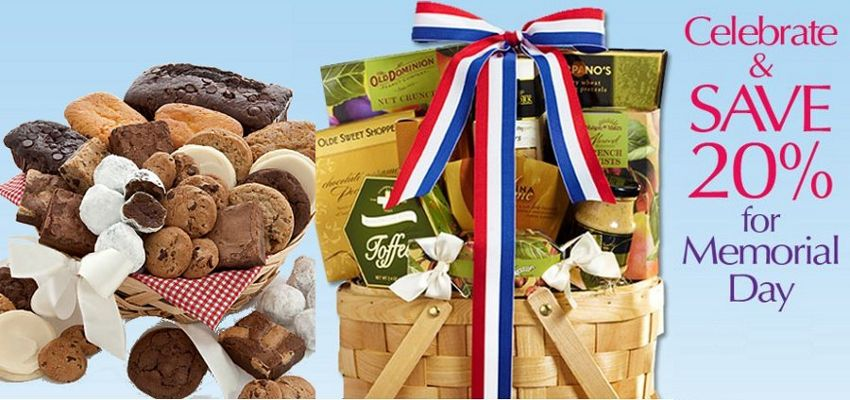 1800 baskets memorial day gifts