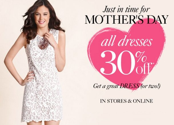 ann taylor loft mother's day special