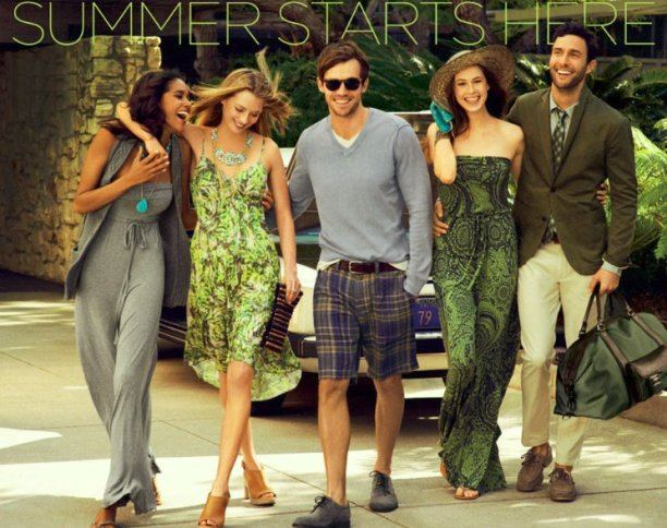 banana republic summer apparel
