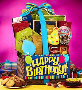 Big Birthday Bash Gift Basket