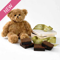 Happy Birthday Bear Gift Set