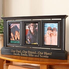 black-distressed-swivel-photo-frame