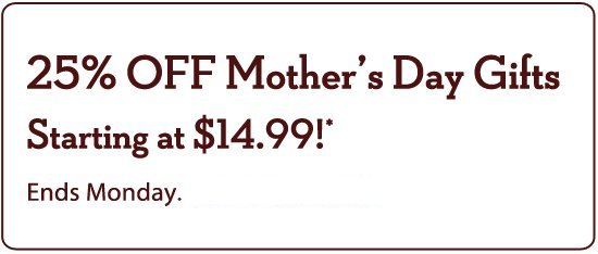 cheryls mothers day sale