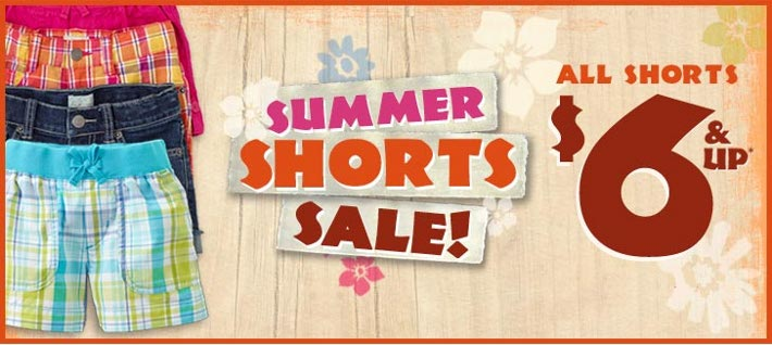 childrens-place-Shorts-sale