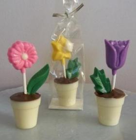 chocolate-flower-pots