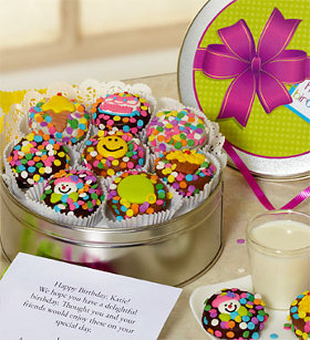 Happy Birthday Chocolate Oreo Tin