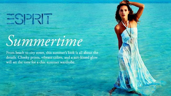 esprit summer collection