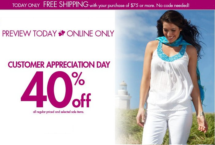 Fashionbug.com today at FashionBug com