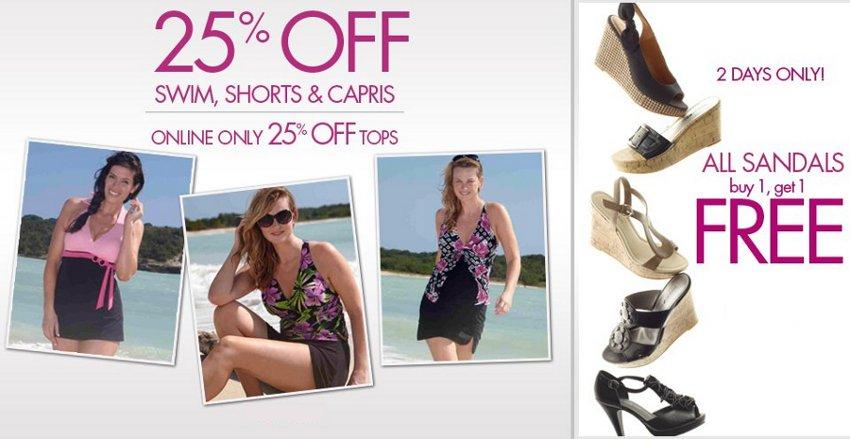 fashion bug summer offers