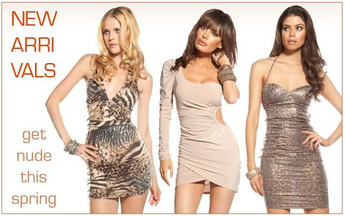 forplay nude dresses