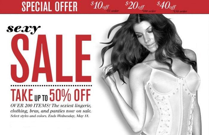 fredericks sexy sale