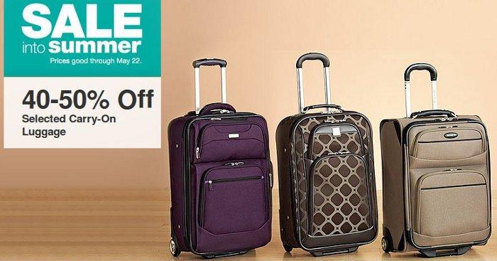 kohls-luggage-offer