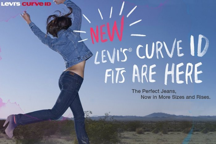 levis curve id fits