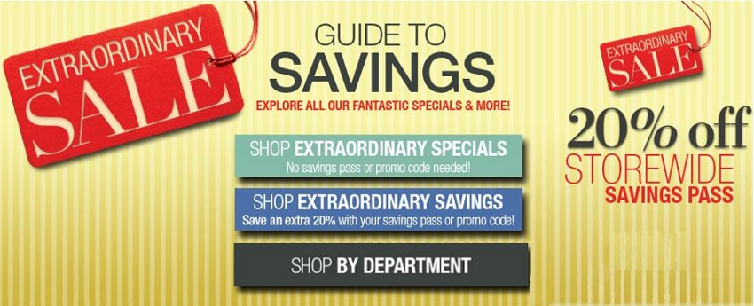 lord and taylor extraordinary sale