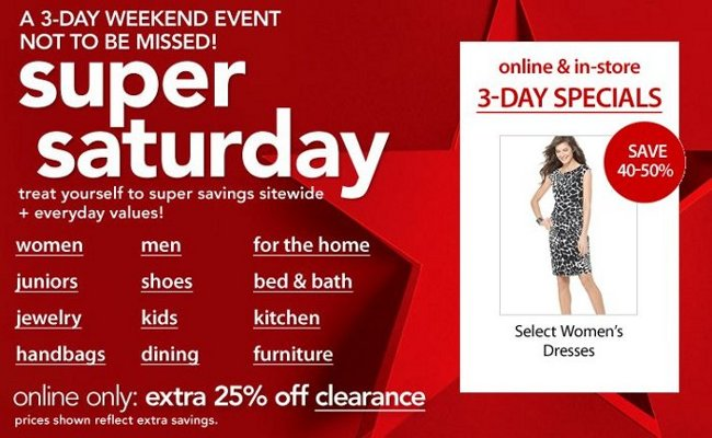 Macy's 3-Day Weekend Event! | Online Shopping Blog