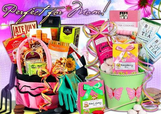 mothers day gourmet gift baskets