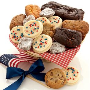 mrs beasleys large summertime bakery basket