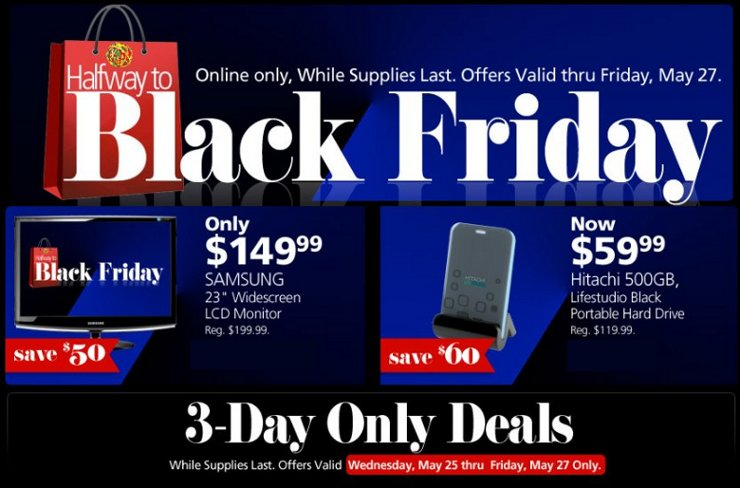 officemax halfway to black friday deals