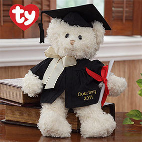 Personalized Graduation Ty Bear
